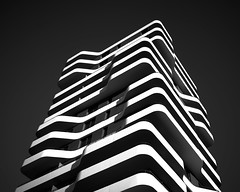 Layers, Ingolstadt, Germany (bartekrutkowskiphotography) Tags: architecture layers abstract abstractions art fine fineart sony sonyalpha a7 a7ii zeiss sonyzeiss wide wideangle building modern modernism bw blackandwhite blackwhite mono monochrome monochromatic levels tower gigantic