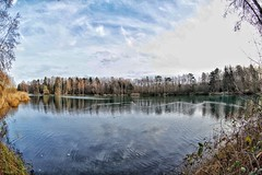Lake view (ruedigerdr49) Tags: lake water nature national outdoor fisheye panorama widescreen landscape germany