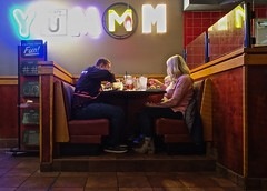 Dining Out (ricko) Tags: people family eating dining restaurant redrobin lexington kentucky booth table