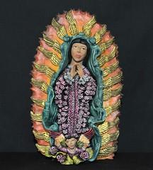 Virgen de Guadalupe Aguilar Oaxaca Mexico (Teyacapan) Tags: ocotlan josejuangarciaaguilar guadalupe pottery ceramica mexico oaxacan