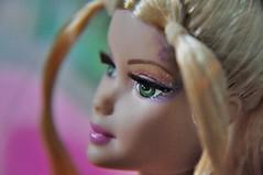Barbie Fairytopia Elina (Egreske) Tags: barbiefairytopiaelina barbiedoll barbie toy doll eyelashes face pink eyes nikond90 spring