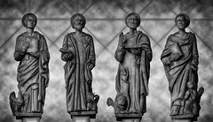 Figures of evangelists (clipo66) Tags: opolskie opole oppeln poland polska church