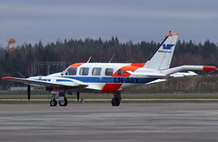 LN-AEY (Pertti Sipilä) Tags: pa31 pa31310 navajo