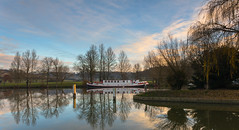 African Queen (THE NUTTY PHOTOGRAPHER) Tags: mapledurham berkshire locks reflections wetreflection willow trees skys