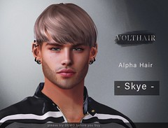 Skye Alpha Hair @ equal10 (✪Tabou✪Volthair owɴer) Tags: hair volthair equal10 sl mesh event new