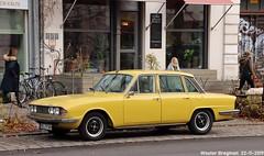 Triumph 2000 Mk 2 (XBXG) Tags: sbtr88h triumph 2000 mk 2 triumph2000 jaune yellow bl britishleyland brunnenstrase berlin gesundbrunnen mitte berlijn germany deutschland duitsland allemagne герма́ния vintage old classic british car auto automobile voiture ancienne anglaise uk brits vehicle outdoor