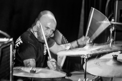 Timeworn (morten f) Tags: vaterland 2019 oslo norge timeworn band metal norway slippfest release party konsert concert live leave soul for now drummer drum trommer