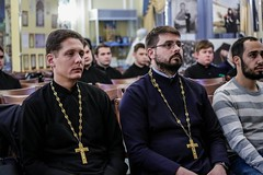 10 декабря 2019, Руководитель информационного отдела Ростовской-на-Дону епархии встретился со студентами семинарии