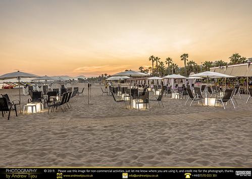 Beach Bar Sunset Colour