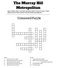 MHMS-Metro-Crossword(1) (The Daring Librarian) Tags: mhms metropolitan newspaper comic crossword