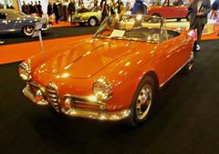 005 Alfa Romeo Giulietta Spyder (1961) (robertknight16) Tags: alfaromeo italy italian 1960s 6c1750 sportscar guielieta nec nec2015 965uxm