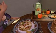 catsickpancakes (bambistickfigureSL) Tags: november beyou apples applebobbing thanksgiving fall roleplay secondlife halloween