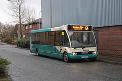Arriva 2819 / YK08 ETU (TEN6083) Tags: transport buses publictransport bus nebuses durham solo optare m950 2819 pityme yk08etu arnisoncentre arriva arrivanortheast