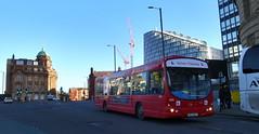 UK - Manchester bus (onewayticket) Tags: bus transport urban gonorthwest volvo b7rle volvob7rle wright drivertraining mk54nuj wrighteclipseurban eclipseurban