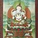 Tangka de Buda Vajrasattva / Vajrastava Buddha thangka