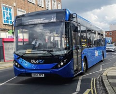 Bluestar 2754 is on Castle Way while heading to West Quay to load up and leave on route 12 to Calmore via Redbridge and Totton. - HF66 DPX - 27th July 2019 (Aaron Rhys Knight) Tags: bluestar 2754 hf66dpx 2019 castleway southampton hampshire gsc gosouthcoast goahead adl alexanderdennis enviro200mmc