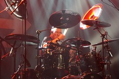 The CHRIS SLADE TIMELINE (from AC/DC) (Philippe Haumesser (+ 8000 000 view)) Tags: concert concerts live scène stage groupe groupes band bands rockband rockbands musicien musiciens musician musicians batteur drummer batterie drums sony acdc thechrissladetimeline sonyilce6000