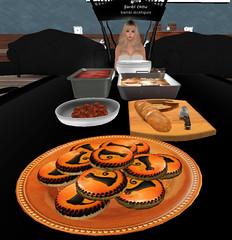 cookies (bambistickfigureSL) Tags: november beyou apples applebobbing thanksgiving fall roleplay secondlife halloween
