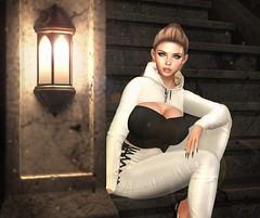 LOTD 283 (The Essence Of Fashion) Tags: stealthic darkfire ascendant fameshedx glowposes paparazzi secondlife blog fashion pose backdrop 3d virtual