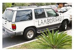 Spray can Lambo (ADMurr) Tags: la car culture spray can lambo ccc575 leica m6 kodak 200 50mm summicron