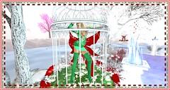 Karnatose Designs Xmas (Karmandi Caeran SL Owner Of Karmatose Designs) Tags: caged cage green karmatosedesigns blouse top skirt boots dress sheer silk raw fun fantasy xmas christmas white inside outside over under fast slow play dance show