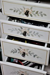 Baubles & Beads (birdsetcetera) Tags: baubles beads jewelry baublesbeads drawer flickrfriday chest drawers accessories woman welldressed cabinet