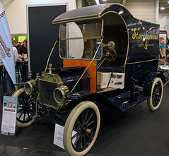 Model T Van (Schwanzus_Longus) Tags: essen motorshow german germany us usa america american old classic vintage historic car vehicle van box truck ford model t tin lizzy c cab