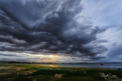 Dramatic sky over Titicaca Lake (marko.erman) Tags: lake titicaca peru highaltitude water sunset dramaticsky sony wideangle clouds sunlight reflections outside outdoor travel nature