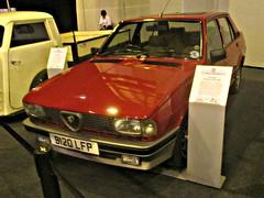 009 Alfa Romeo Giulietta (Typ 116) RS (1985) (robertknight16) Tags: alfaromeo italy italian 1980s giulietta alfaromeotipo116 nec nec2015 b120lfp