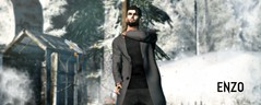 In midwinter (Enzo Santana) Tags: winter galvanized coat enzo wayne
