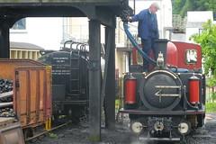 Ffestiniog Railway,  Porthmadog  02-07-2007 (Joseph Collinson) Tags: wales porthmadog ffestiniog railway engine trucks july 2007 summer