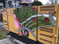 To brighten a dull day! (Trinimusic2008 -blessings) Tags: canada ontario toronto december2019 streetart urban judymeikle trinimusic2008