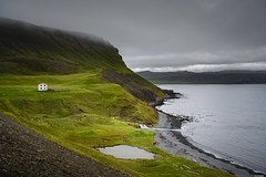 Reclusion (Rico the noob) Tags: nature landscape dof outlook z7 travel sky house lake mountains beach water clouds coast waterfall iceland published outdoor 2470mm 2470mmf28s cliff mountain grass river 2019