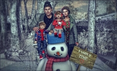 *There's snow place like home* ❤️ (Ⓐⓝⓖⓔⓛ (Angeleyes Roxley)) Tags: posed poses pose fair winter holiday snowtime family sign snowball snowman fun sl secondlife event mainstore