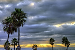 O'Side Sunset 28-9-20-19-50D (rod1691) Tags: california united states nature beauty usa tropical paradise sunrise palm trees outdoor landscape seascape walkabout sunset photography travel beach sand sun pier strand canon40506070d5dii walknshoot