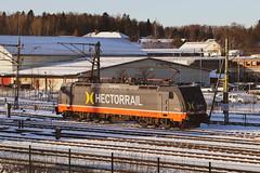 Hectorrail, Hallsberg 2019-12-02 (Michael Erhardsson) Tags: hallsberg lokstation december vinter snö 2019 hectorrail ellok