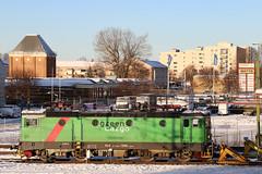 RC4 1268, Hallsberg 2019-12-02 (Michael Erhardsson) Tags: hallsberg lokstation december vinter snö 2019 green cargo ellok