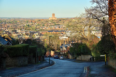 Spot The Train (Deepgreen2009) Tags: guildford town urban cathedral church dominating surrey hill train station road steep view vista