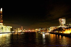 Sleepwalk For Shelter ~ London ~ Wednesday December 3rd 2019 (law_keven) Tags: london sleepwalkforshelter photography toweroflondon england nightphotography bridges bridge water riverthames thames reflections silhouettes
