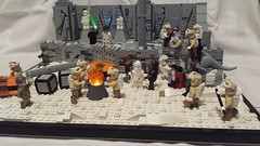 RHEN VAR EXPEDITION X-MAS SQUAD (vlad SW) Tags: lego star wars rhen var expedition xmas squad rebels snow trooper led lights temple ruins