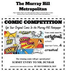 MHMS-Metro-Comic(1) (The Daring Librarian) Tags: mhms metropolitan newspaper comic crossword