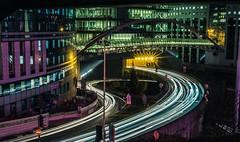 White light, Cyberpunk (AThéo) Tags: longexposure streetphotography nightshot night shot paris ladefense light a6000 sony