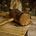 Vintage knight`s wooden mallet