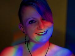 Maria (ingrid eulenfan) Tags: fotoshootings photoshootings portrait portraits porträt frau woman party licht colourful sonya77ii sigma50mm14 inside