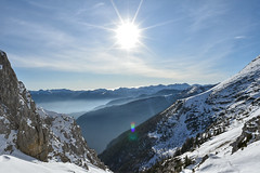 On a sunny day in the Slovenian Alps (jan.foraus) Tags: panorama mountainview mountain alps slovenia