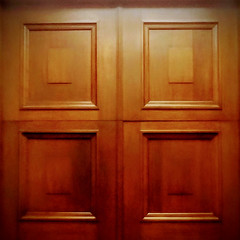 ⬛⬛ (Will S.) Tags: mypics wood panels doors squares rectangles