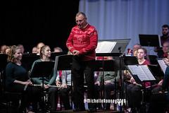 040eFB (Kiwibrit - *Michelle*) Tags: kpac winter concert winthrop performing arts center kennebec maine 120719 2019 show perform band jazz chorus sing