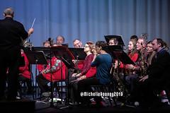 024eFB (Kiwibrit - *Michelle*) Tags: kpac winter concert winthrop performing arts center kennebec maine 120719 2019 show perform band jazz chorus sing