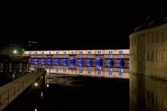 Barrage Vauban, Strasbourg (Tom Doel) Tags: barragevauban strasbourg bridge covered vaubandam defensive river ill lock grandeécluse weir dam vosges sandstone jacquestarade vauban gargoyles