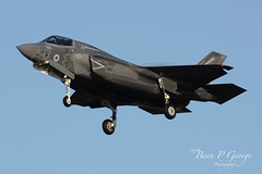F35B-007-ZM141-4-12-19-RAF-MARHAM-(6) (Benn P George Photography) Tags: rafmarham 41219 bennpgeorgephotography lockheedmartin f35b lightningii 007 zm141 jsf jointstrikefighter royalairforce 617sqn 208sqn lightningstrikeforce norfolk nikond7100 nikon200500